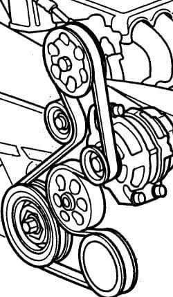 how to change multi rib belt on a honda civic coupe 2008 2006 dodge ram serpentine belt diagram