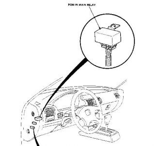 Accord Main Relay Location on 2009 Honda Accord Fuel Filter
