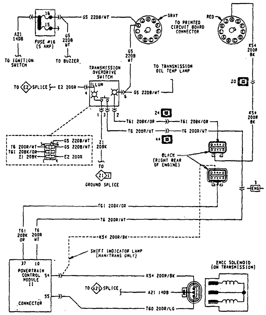 wiring diagram for 1995 dodge dakota i bought a 1993 dodge pickup that im re-building. wiring ... #14