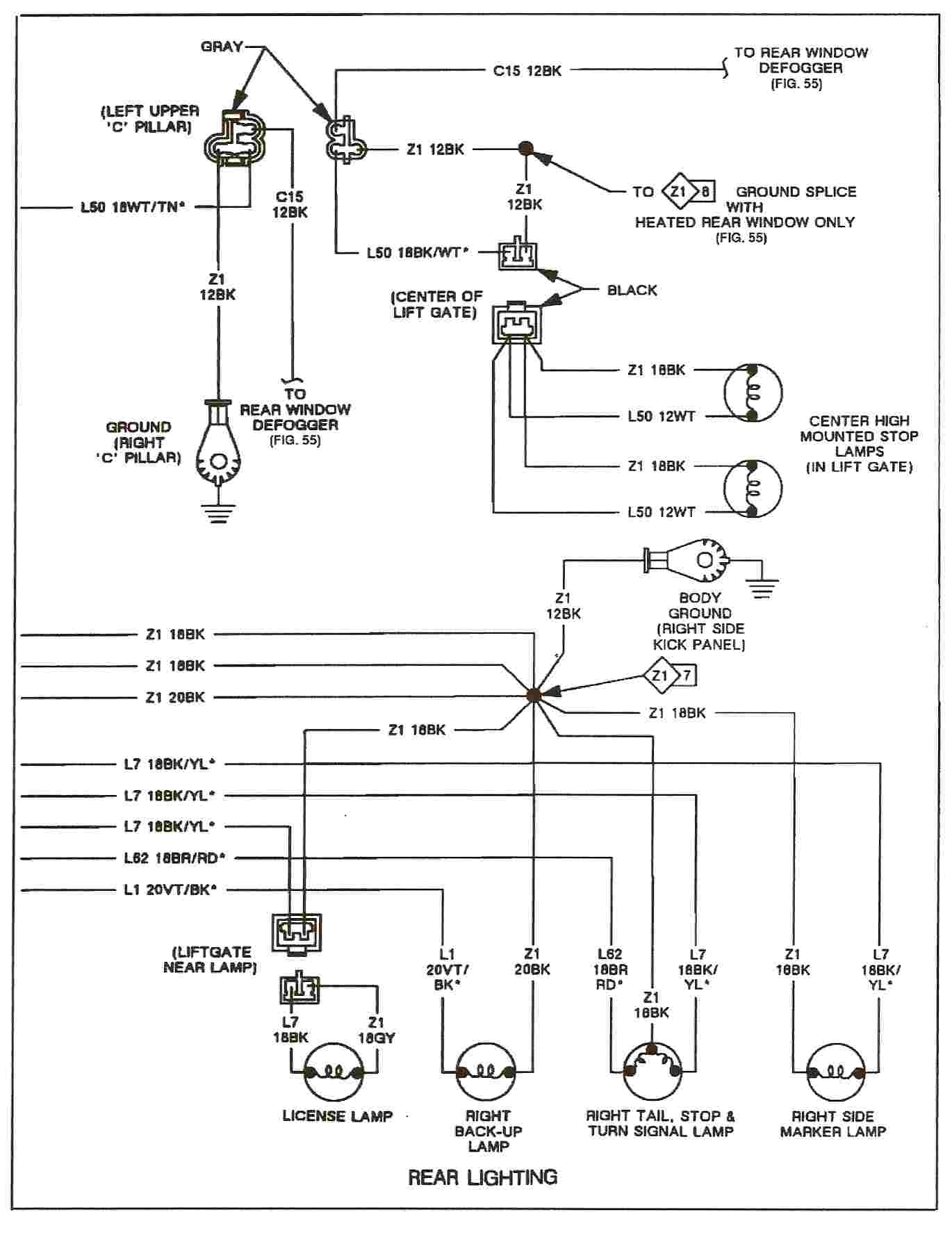i have a 91 dodge shadow everytime i turn my headlights on ... 2006 dodge ram tail light wiring diagram dodge ram tail light wiring diagram