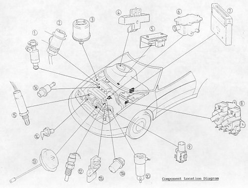 Components on 03 Cts Power Steering Diagram
