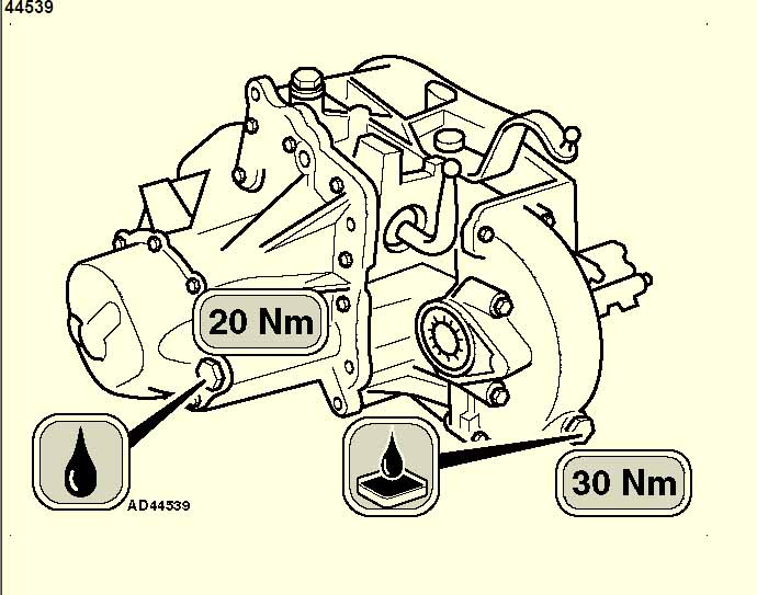 Peugeot Transmission Diagrams : Could you please tell me where the gearbox oil filler cap