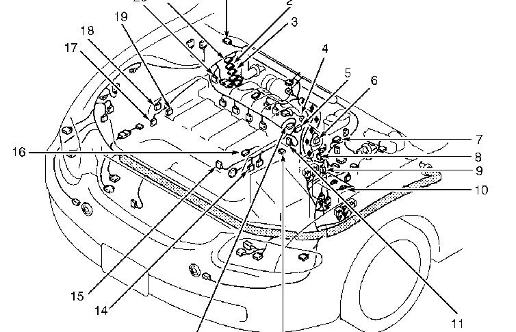 2007 Mazda 3 Engine Diagram Com Acirc Reg Mazda Heat Shields Oem