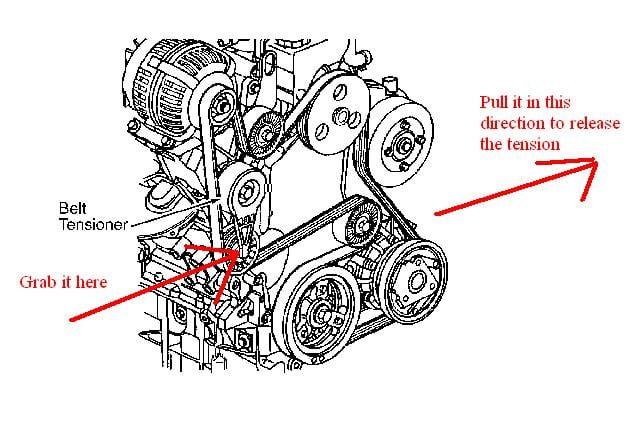 2002 olds alero engine diagram: i ma putting on a olds, alero,  alternator