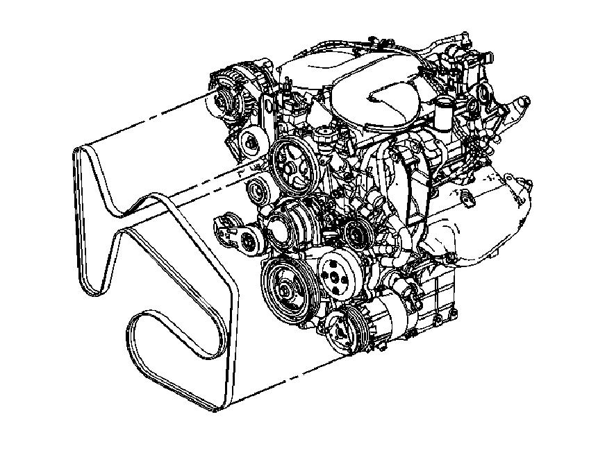 Need Serpentine Belt Routing Diagram For 2006 Chevrolet