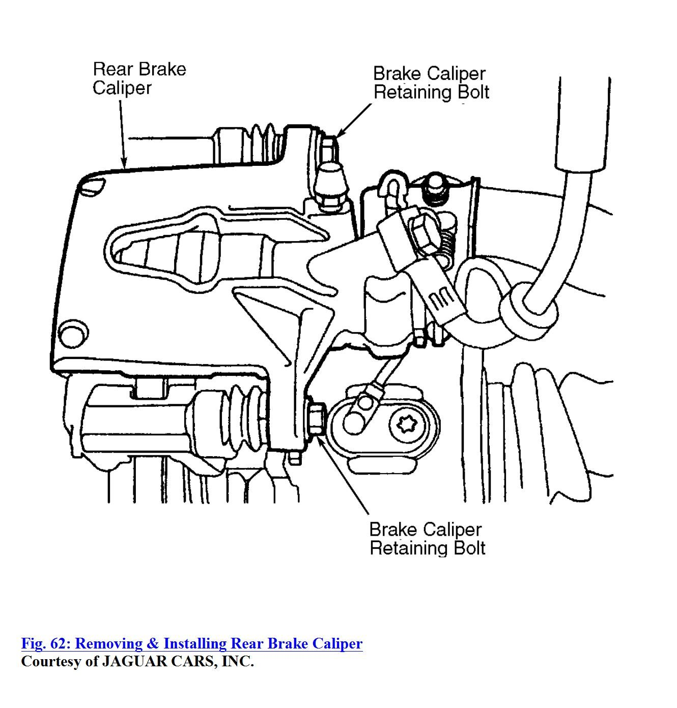 how to replace the rear brake pads on an x type jaguar