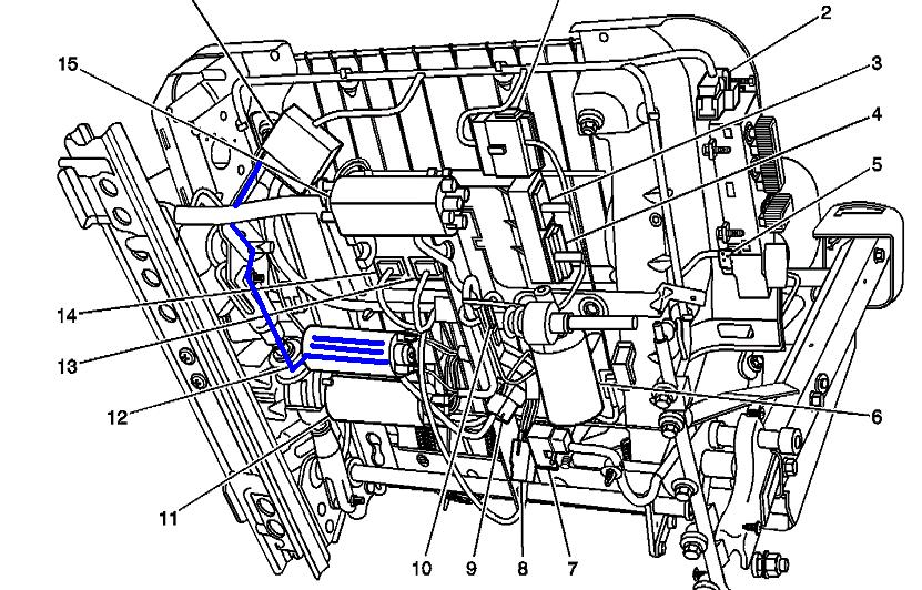 2003 yukon xl engine diagram