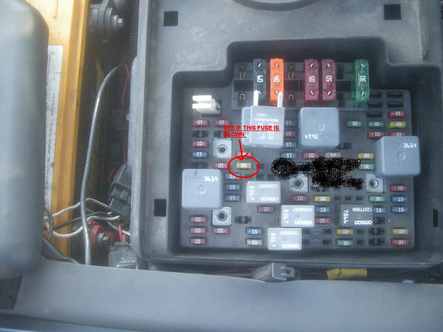 87 chevy truck fuse box  | 300 x 448