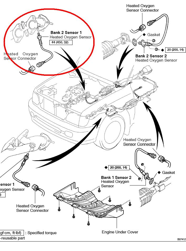 wiring diagram toyota tacoma wirdig 1999 toyota 4runner oxygen sensor location wiring amp engine diagram