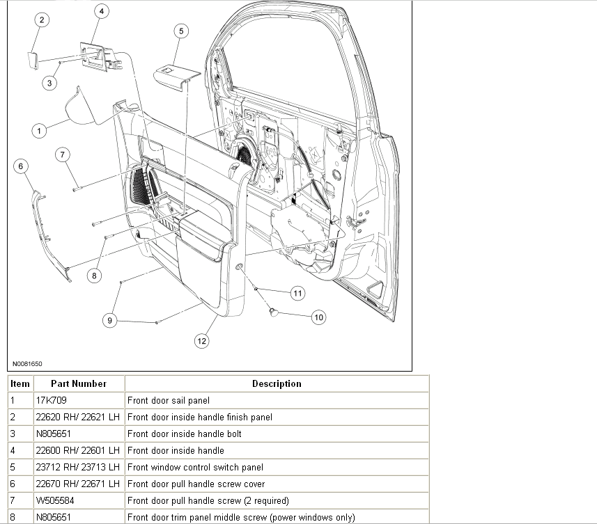 how to change my driverside mirror on my 2008 ford focus