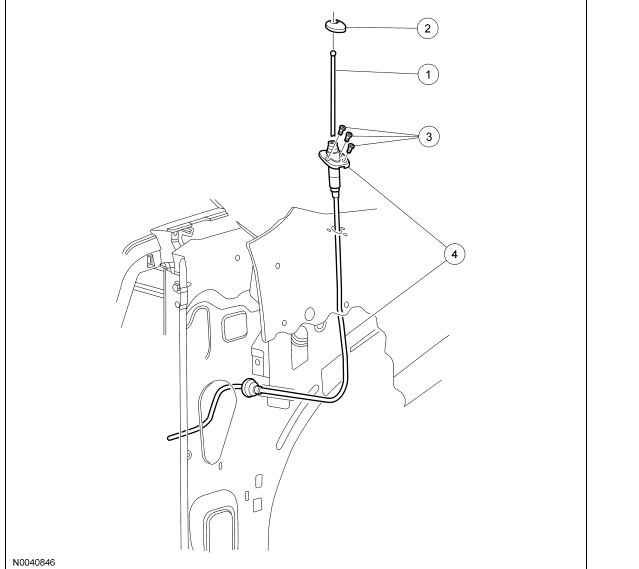 service manual  how to replace antenna on a 2013 ford