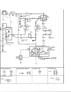 i own a 1988 mazda.b2200 pick up. after it sits for a day ... 91 mazda b2200 wiring diagram