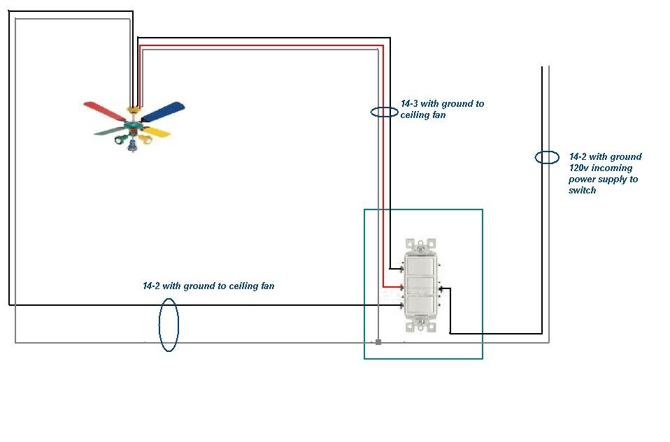 How To Wire A Bathroom Fan Light