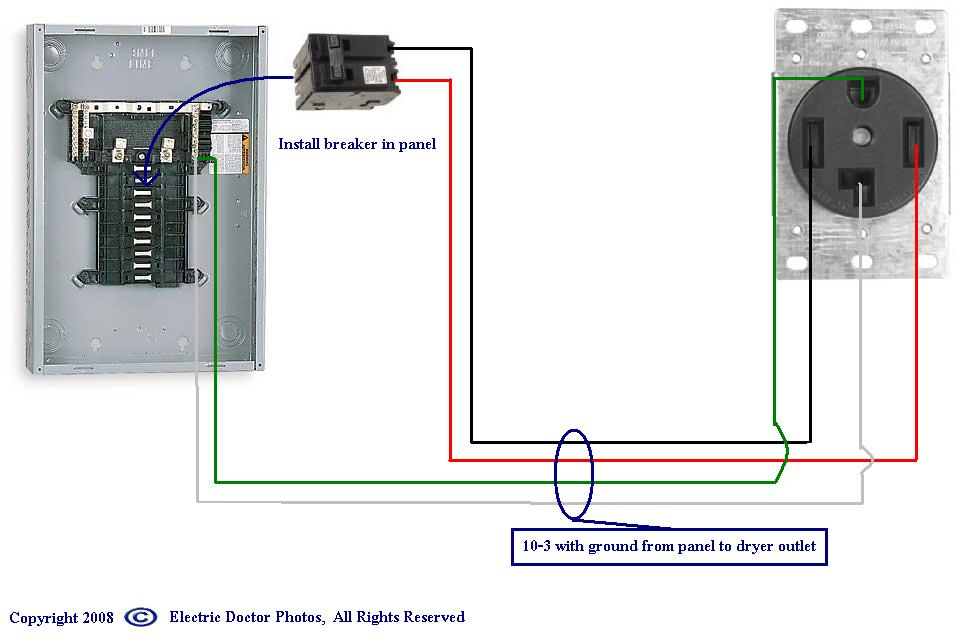 wiring diagram for 220 volt dryer outlet wiring diagram wiring 220 volt receptacle home diagrams