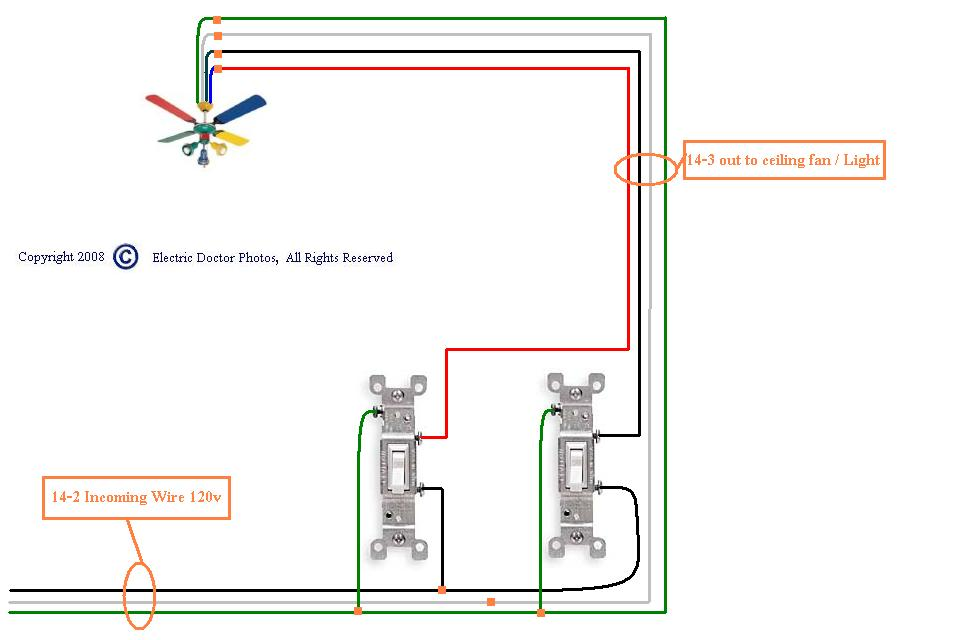 4 wire ceiling fan switch ceiling fan wiring diagram 1