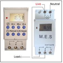 powertech digital mains timer instructions