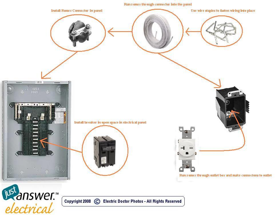 i bought a convection heater to replace an electric ... 220v outlet wiring diagram bryant single phase 220v motor wiring diagram