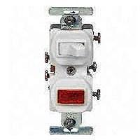 am trying to replace a single pole switch a pilot light graphic