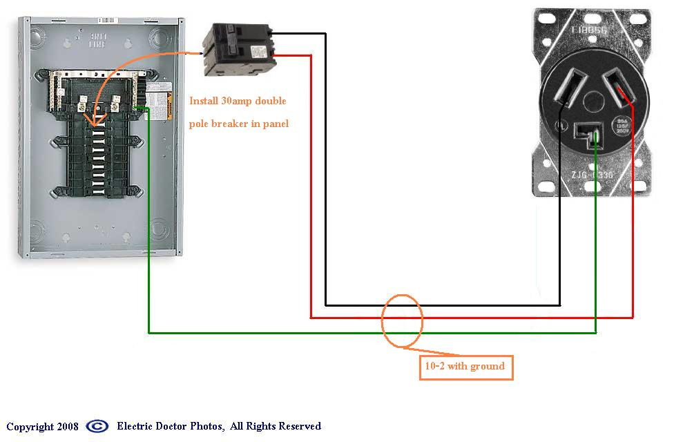 Electric Water Heater Wiring Diagram Additionally 4 Prong Plug Wiring