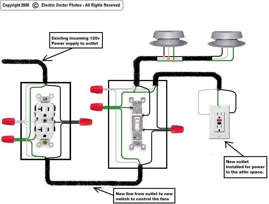 attic wiring diagram