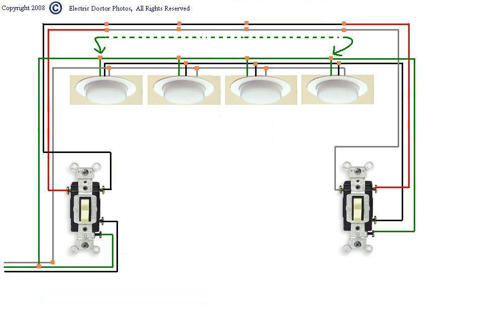 I need a wiring diagram showing how to install a 3 way switch – Electrical 3 Way Switch Wiring Diagram