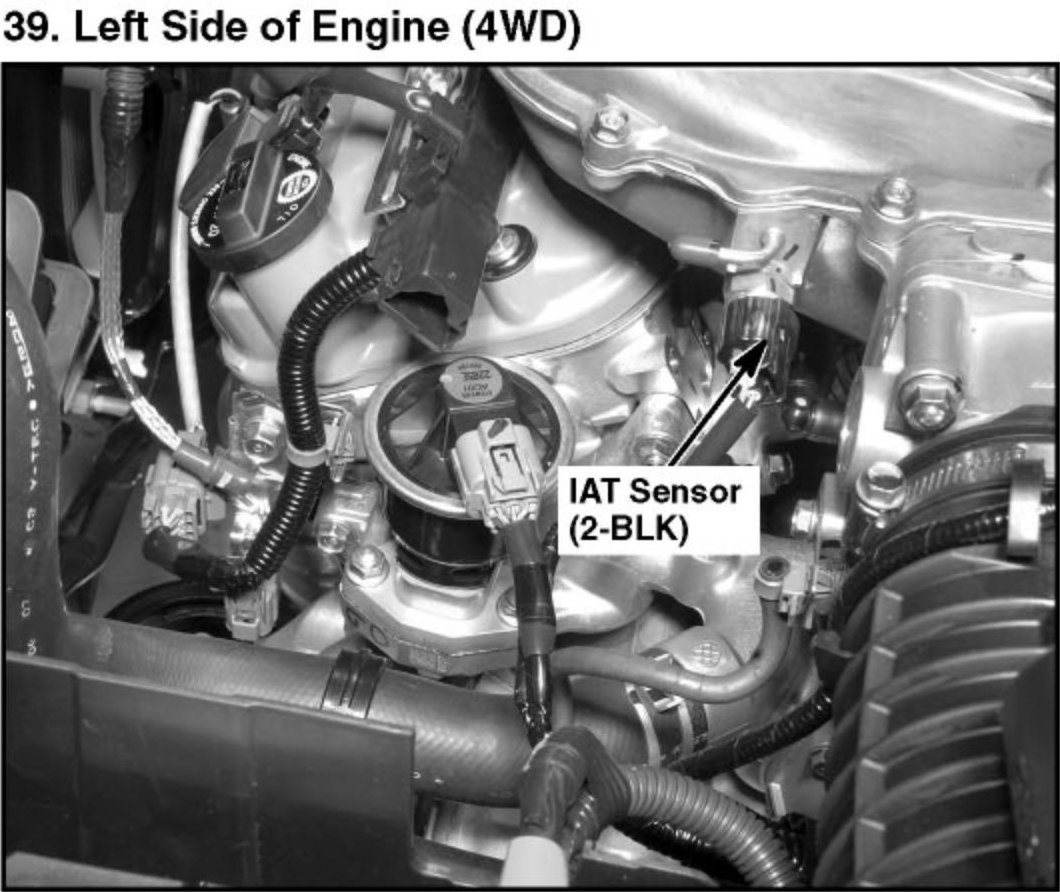 I Have A 2007 Honda Pilot EX 2WD. Where Is The IAT Sensor