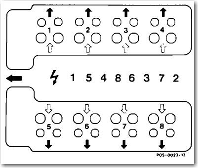 0zm2w 86 Mercedes 420sel Firing Order I Diagram Possible