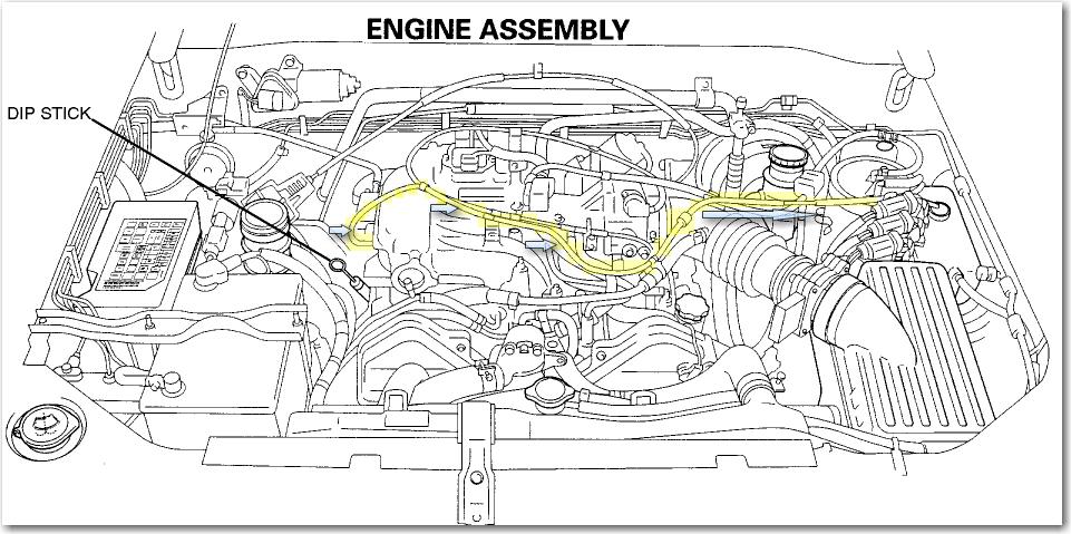 1995 Isuzu Rodeo  3 2 Has Missing Vacuum Line Off Passenger Side Of Plenum  Where Is It Supposed