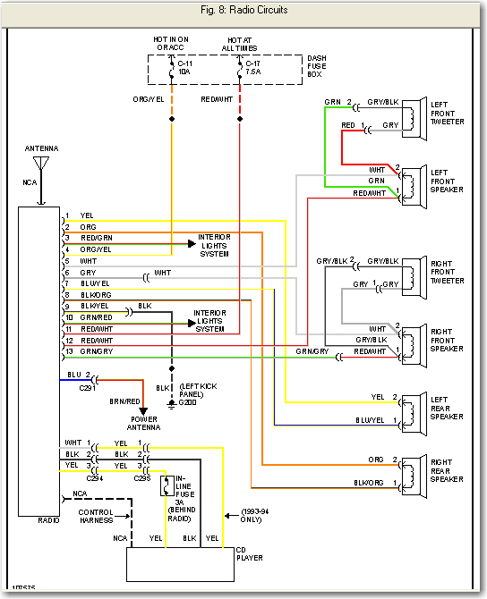 1993 isuzu trooper fuse diagram radio wiring schematic for 1993 isuzu trooper i need a radio wiring diagram for a 1992 isuzu trooper 4 ...