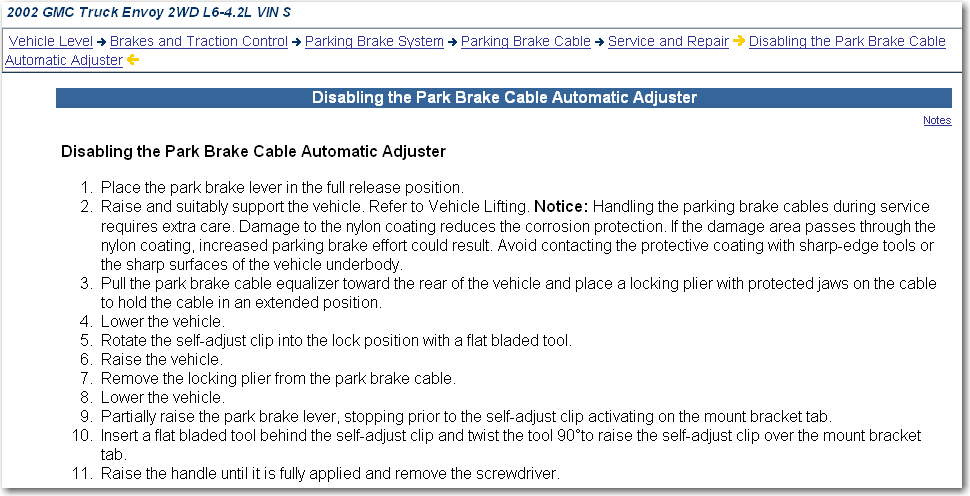 how to fix parking brake
