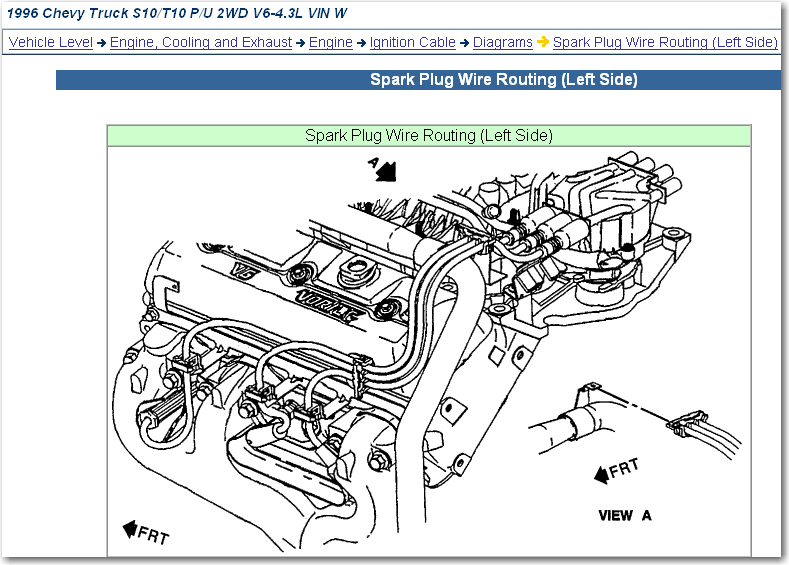 is the a website that i can get the spark plug wire ... glow plug wiring diagram 83 chevy 2001 duramax glow plug wiring diagram #14