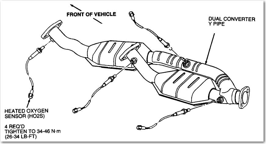 98 ford windstar 3 8 check engine light on  obd codes