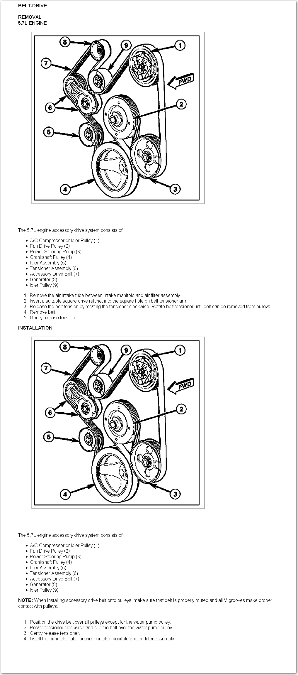 where can i find the routing diagram for the serpentine ... 2010 dodge ram 5.7 hemi serpentine belt diagram dodge 2500 57 hemi serpentine belt diagram #14