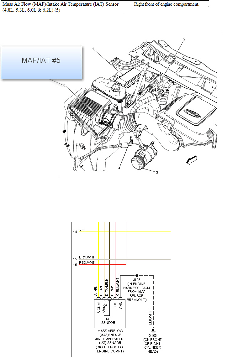 2008 chevrolet silverado 1500 air temperature sensor found 5 3l v8 if you have any more questions or need any more diagrams please don t hesisitate to ask thanks again jhoop