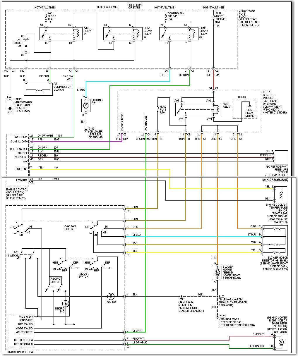 07 saturn ion headlight wiring diagram my 2003 saturn ion 4 door sedans air conditioning and ... 2003 saturn ion ac wiring diagram #11