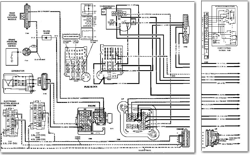 Do You Happen To Have A Wiring Diagram For A 1990 Gmc Sonoma S 15 Ecm I Am Doing Some Engine