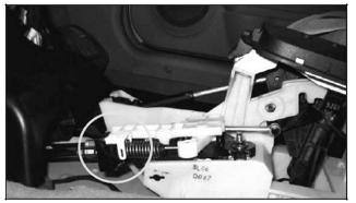 honda accord manual shifter cable replacement