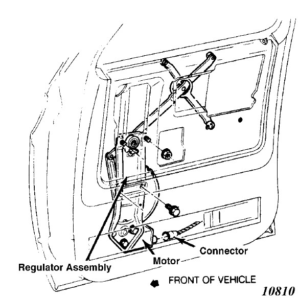 how to remove electric window from a 1985 porsche 944