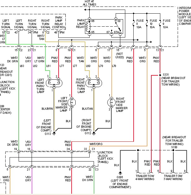 Wire on Dodge Ram Running Light Wiring Diagram