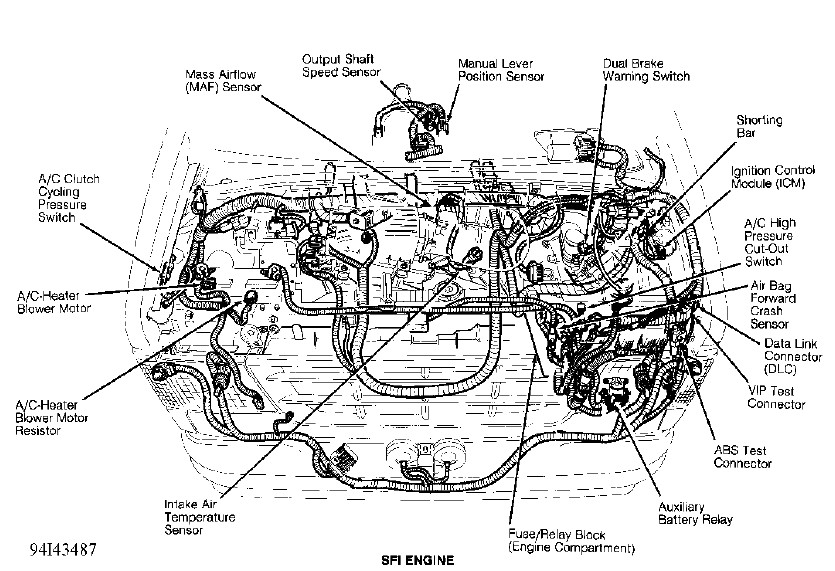i have a 94 ford e350 van with a 460 engine. will the ... 1990 ford 460 engine diagram 94 ford 460 engine diagram