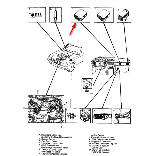 I Have A 1989 Mercedes 560sl Am Haveing Fuel Problems