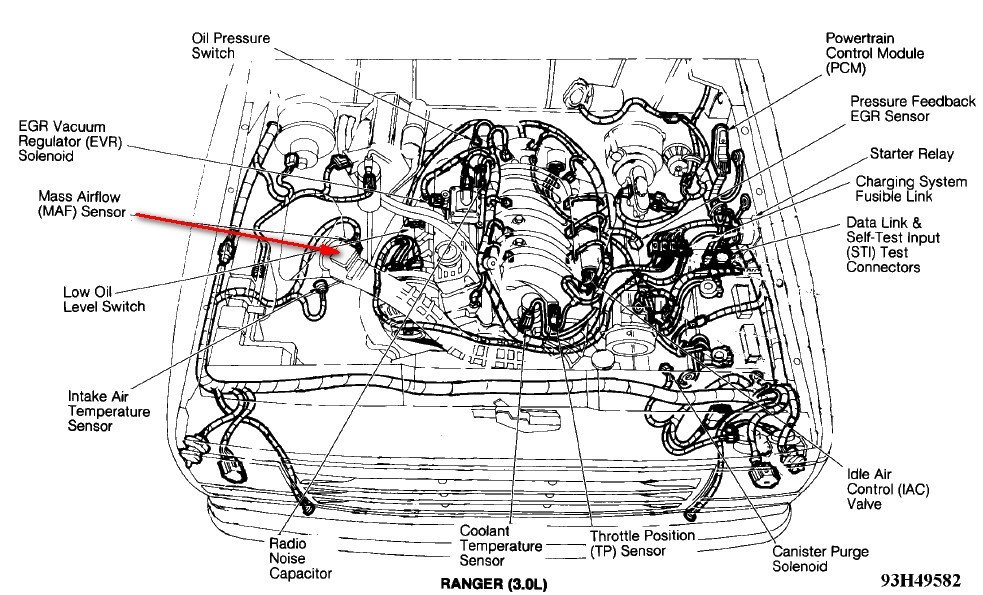 11 further ford ranger 4 0 engine diagram images
