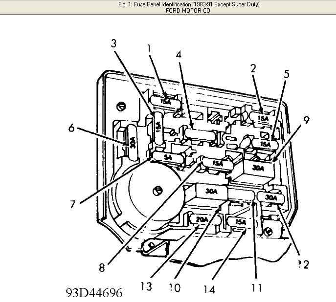 where can i get a ford fuse box diagram for a 1986 ford f