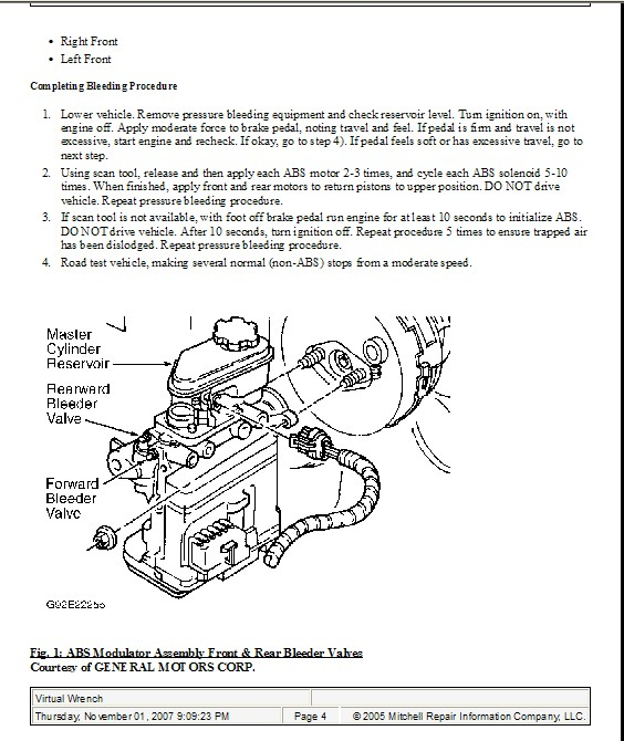 Brake Goes To Floor: I Have A 97 Chevy Cavalier Z24. I Have No Brake Pressure