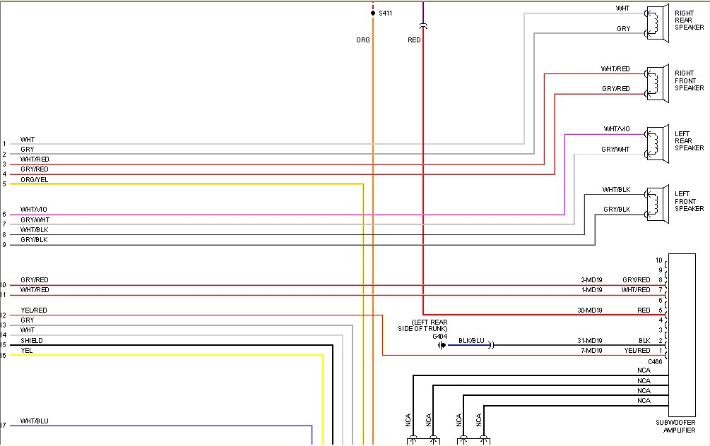 Radio Wiring Diagrams For 200 Lincoln Ls