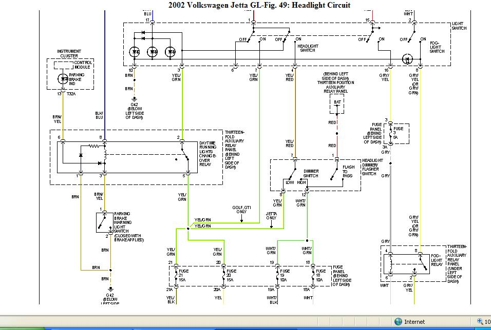 Wiring Diagram  32 2008 Jetta Fuse Box Diagram