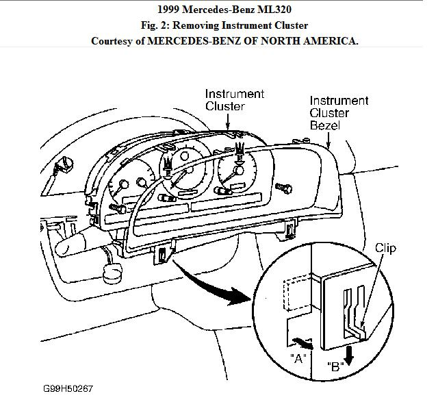 how to disable a mercedes ml320 check engine light