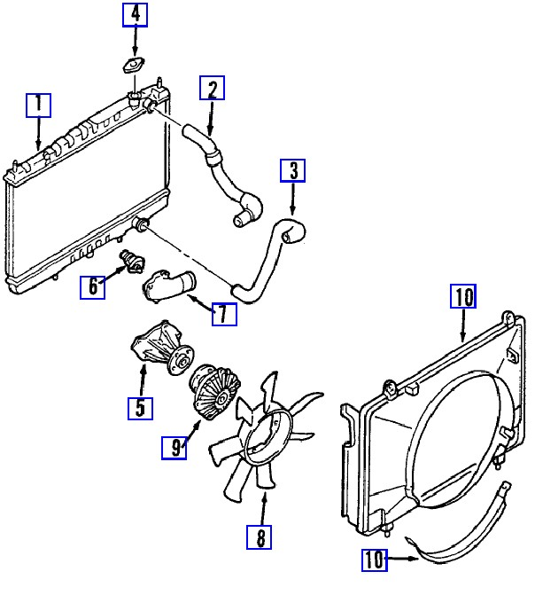 service manual  how to remove thermostat 2008 nissan frontier