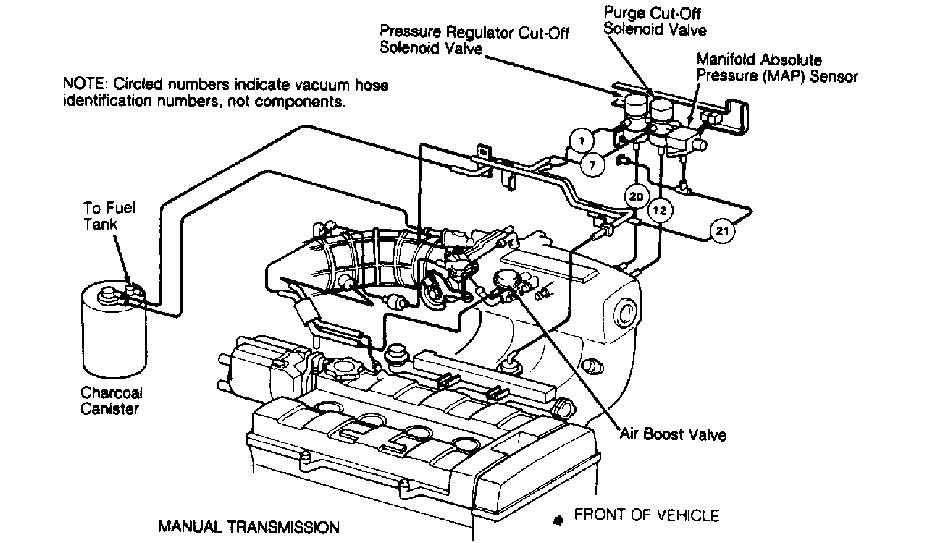 i need a vacuum line diagram for a 1991 acura integra gs
