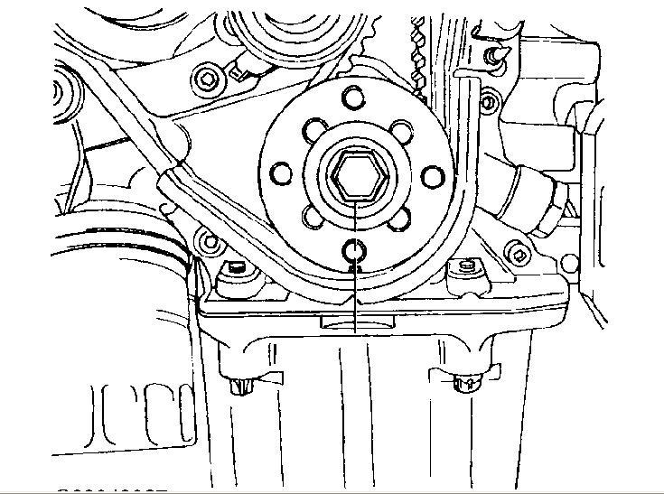 how to repair a 1999 daewoo leganza timing belt